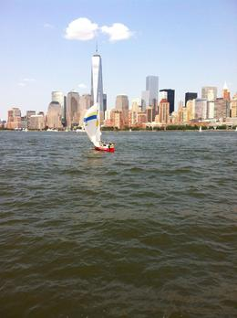 Sailing on The Hudson , Irma M - August 2014