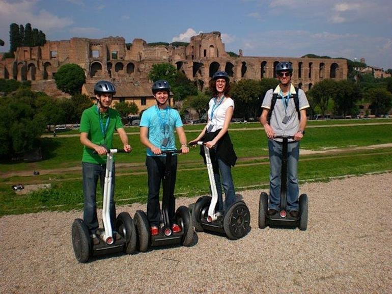 Our Group at Circus Maximus - Rome