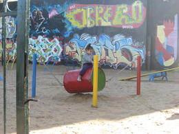 Playground in Buenos Aires., Bandit - October 2012