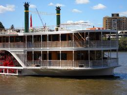 Our river boat, Brisbane cruise - April 2009