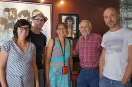 Samen met de ervaren gids in Sticky Fingers van Bill Wyman , Dimitri P - July 2015