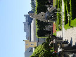 Beautiful gardens with views of Fort. Not to be missed while in Salzburg. , Judy & Mike - July 2012