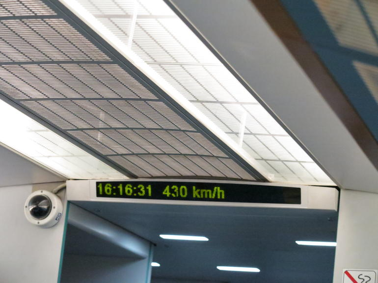 So fast! - Shanghai