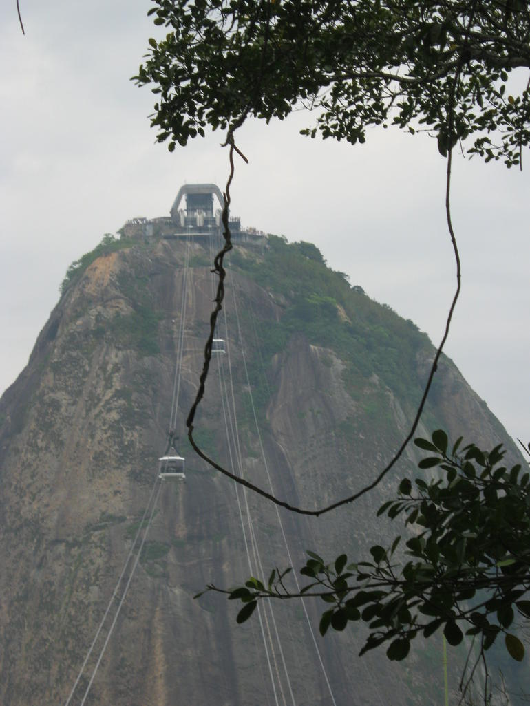 That's a long way up there! - Rio de Janeiro