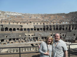 Mike and Louise at the Coleseum , Michael W - March 2015