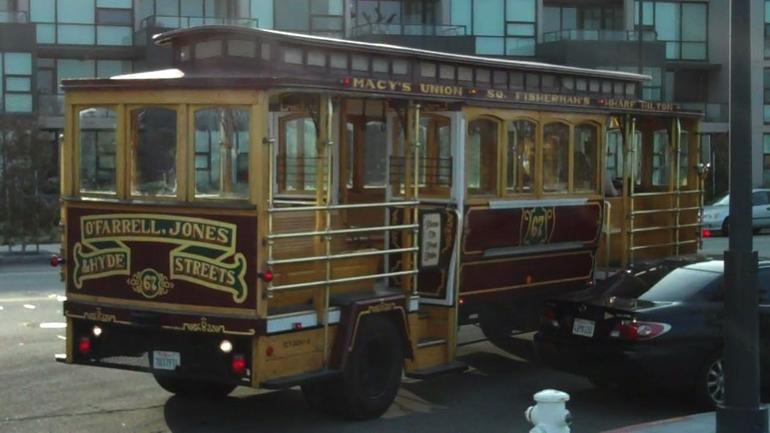 Trolly Car - San Francisco