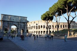 The Arch of Constantine and the Colosseum. , Ma. Lope M - August 2016