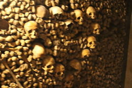 Even people during those times can be artistic arranging the bones and skulls. , taps - June 2015