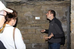 Great tour guide explaining the Catacomb system, facsinating , Raymond W - May 2011