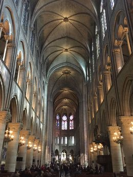 Notre Dame is one of many stops on the L'Open Tour and not to be missed! , Kiana C - May 2016
