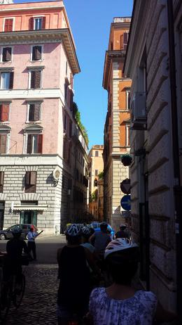 Brief stop in one of the small streets of Rome. , gigi - June 2014