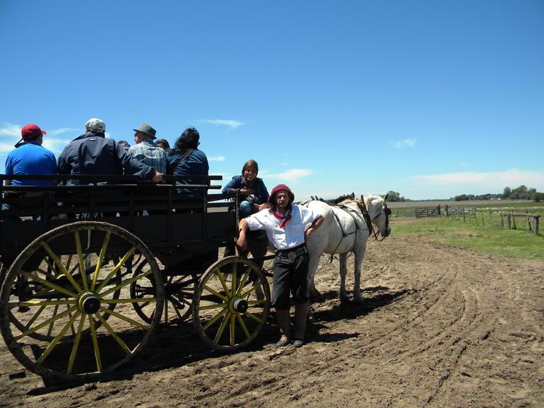 Paseo en Carreta con Gaucho - Buenos Aires