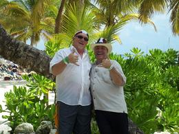 Having a great time on Saona Island! , John W - April 2012