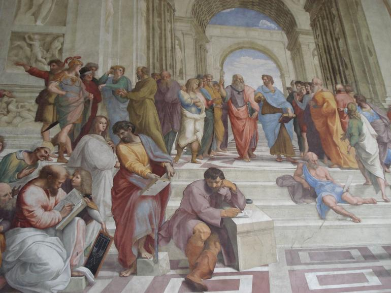 Raphael's School of Athens - Rome