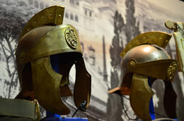 Gladiator helmets, Jeff - July 2013