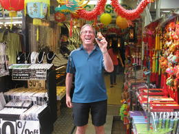 I had so much fun on my half day tour of Hong Kong. At Stanley Market I bought myself a Buddha to bring me good luck! , Patrick L - November 2013