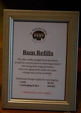 Rum Refills, Louise H - July 2011
