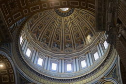 This is the view of the dome's interior. It is the largest dome in the world. , EhViator - September 2015