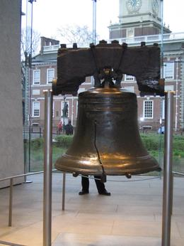 The bell has a lot of visitors. Its voice has never been stilled, Angela S - April 2009