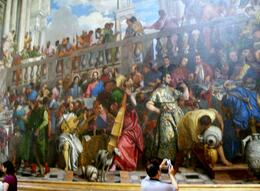 Very large painting of Christ and the wedding., Thomas W - June 2010