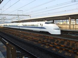 Tokyo bullet train ride on Mt Fuji day tour - an awesome ride at 200 kms/ hour!, Melanie L - September 2009