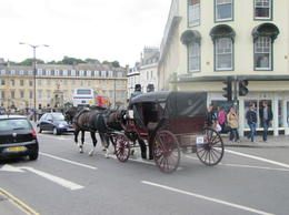 Horse and carriage rides available outside the Cathedral, Helene - September 2012