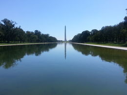 Taken from the Lincoln Memorial , David S - August 2015