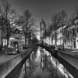 Exploring beautiful Delft. , Rhiannon - December 2016