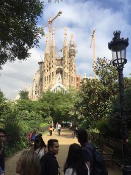 Just a picture of Sagrada Familia , Kevin O - January 2017