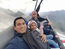 I, Mohammed monirul Islam and my family enjoying ice flyer ride in titlies , MOHAMMED MONIRU I - August 2017