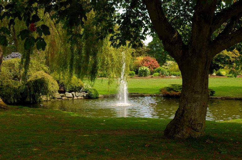 A Peaceful Park - Victoria