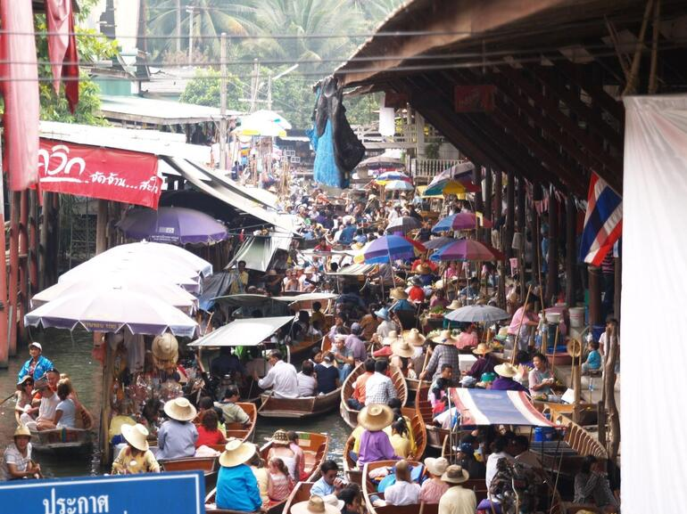 A popular place - Bangkok