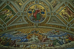 One of the rooms in the Vatican Musuem. , Stephen M - November 2012