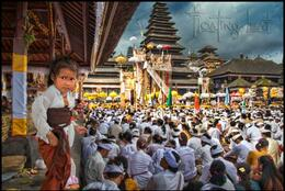 Another great shot from Prof. Doliveck. Bali has more temples than any other place in the world and westerners are usually welcome to attend and encouraged to participate. , Supafly - February 2013