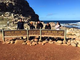 Cape of Good Hope with some of our group tour , Siriporn D - July 2015