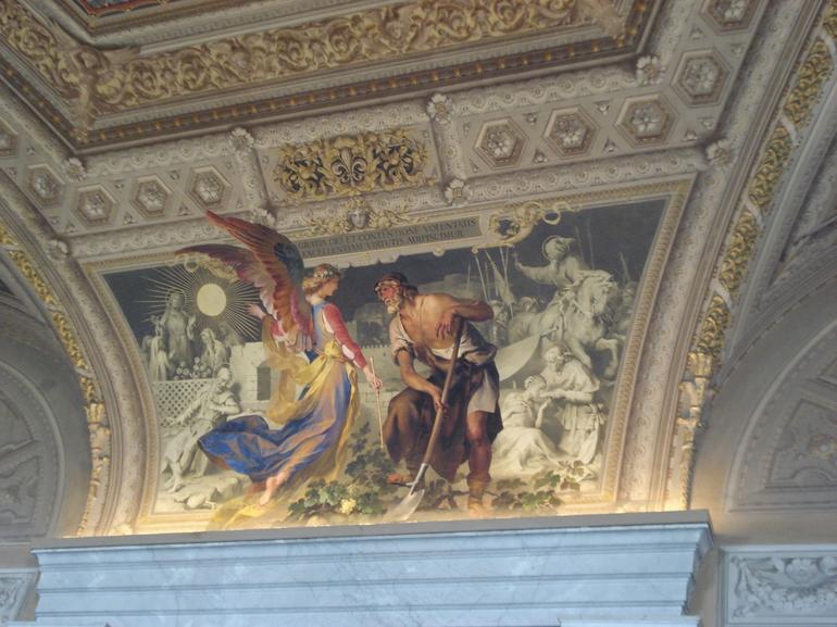 Ceiling fresco - Rome
