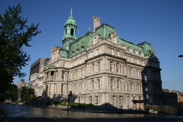 City Hall, Old Montreal - Montreal