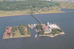 Ellis Island där 12 miljoner immigranter passerade mellan 1892 och 1954. , Håkan W - July 2015