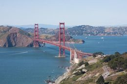 Best way to see experience the Golden Gate Bridge for the first time! , Eric V Tyler T - May 2015