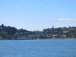 View from Phaia to Russell on the ferry , sallymay - June 2012