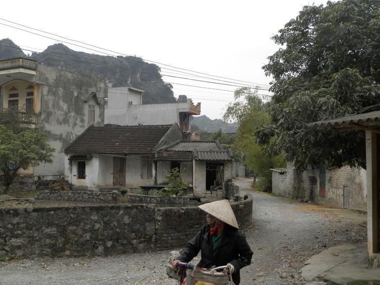 passing thru a village - Hanoi