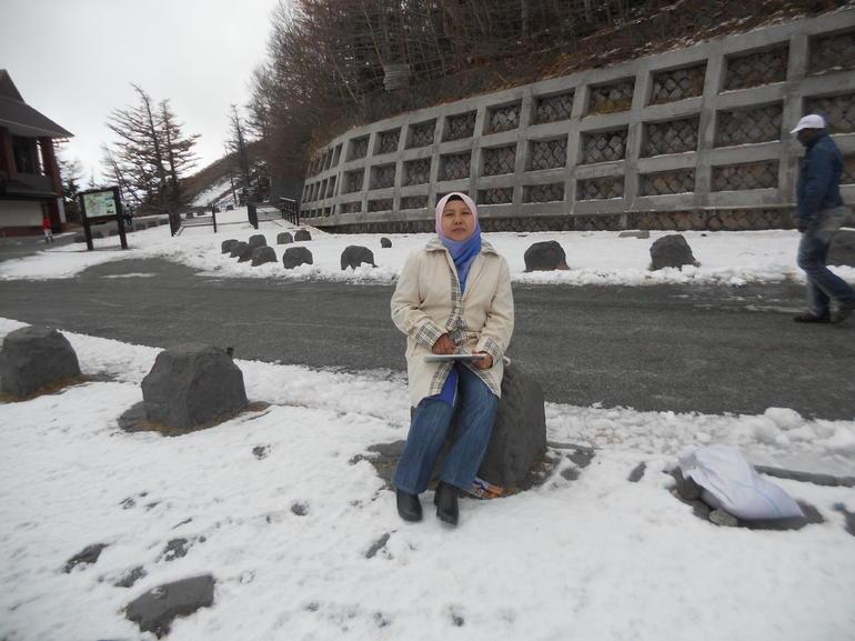 Snow at Mount Fuji - Tokyo