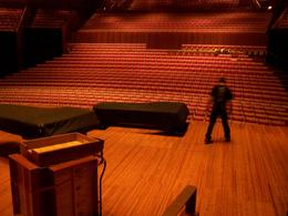 """The Sydney Opera House is working all around the backstage tour, so while we were on the tour we got to see them getting ready for the performance of """"Symphony at the Movies"""" (which we..., Kenneth V - November 2008"""