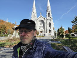 Werner, sightseeing in Ste-Anne-de-Beaupré , Werner N - October 2015