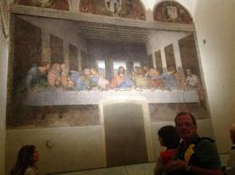 This was amazing to actually view The last supper painting , Joseph W C - October 2016