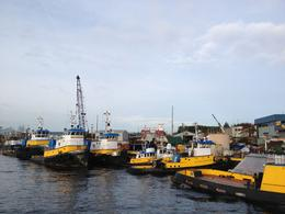 took this because I loved all the colorful tugboats. , P K K - January 2013