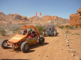 Valley of Fire Dune Buggy! We are a family of 9 (from 11 to 63 years of age) and have traveled quite a lot. The kids said it was one of the better trips they have taken. This was so exciting I'm ... , Marie-Anne B - April 2011