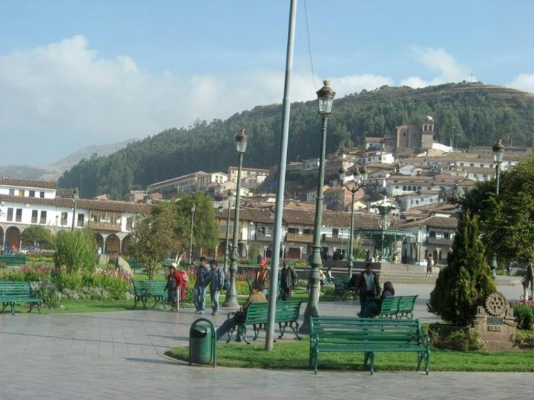 View of Square in Cusco - Cusco