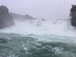 At Rhine Falls , kcelledge - November 2016