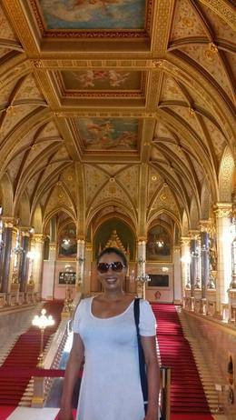 Inside the Parliament building. Once in a lifetime experience for me. , Ann Marie S - April 2017
